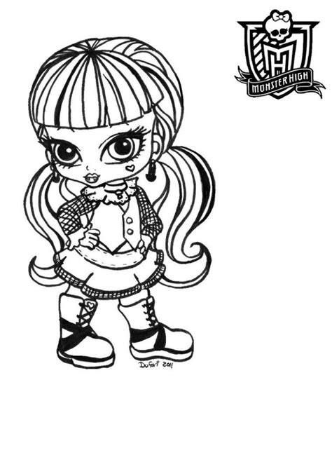 cleo de nile from monster high coloring page color luna