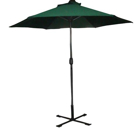 9ft Patio Umbrella Palm Springs 9ft Aluminium Outdoor Patio Umbrella Garden Parasol