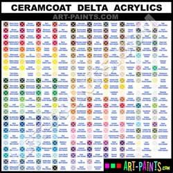 ceramcoat delta acrylic paint colors ceramcoat delta