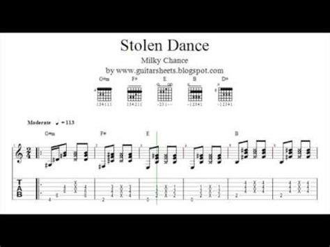 Milky Chance Stolen Dance Chords