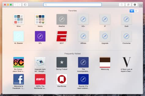 templates pages os x yosemite os x yosemite get to know the new slimmed down safari
