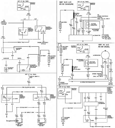 1987 ford wiring diagram wiring diagram schemes