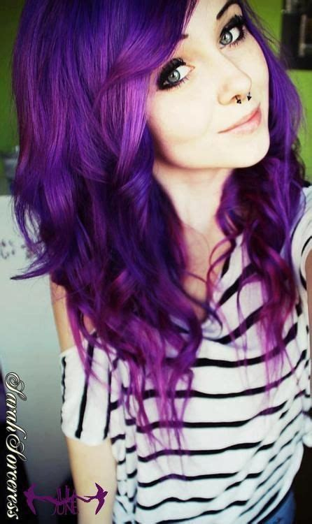 dyed hairstyles purple purple hairstyles these 50 cute purple shade hairstyles