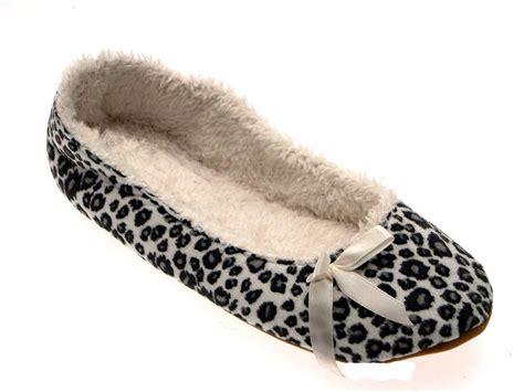 womens slip on slippers womens slippers mules winter slip on tartan leopard