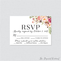 rsvp cards wedding cards wedding templates