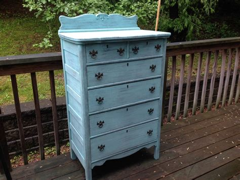 shabby chic dressers and chests chic and shabby beachy aqua dresser chest of drawers haute juice