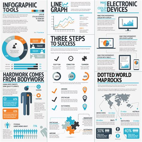 infographic templates 19 professional vector infographic template sets only