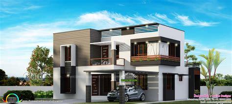 flat roof 4 bedroom modern house kerala home design and floor plans 4 bedroom modern flat roof house 2600 sq ft kerala home design and floor plans