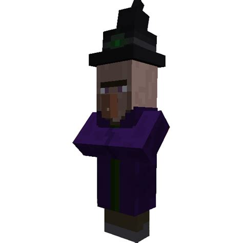 Minecraft Papercraft Witch - papercraft witch