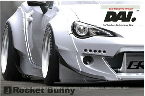 Kyt X Rocket Retro White frs brz rocket bunny wide kit http www greddy