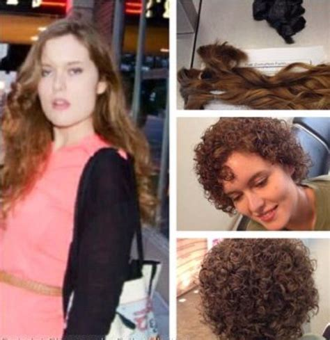 perm makeover what a dream come true makeover cute n curly pinterest