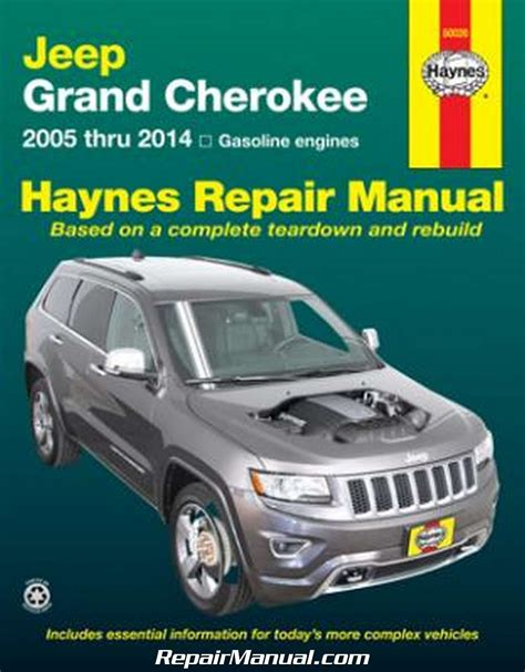 1997 Jeep Grand Service Manual Jeep Grand 2005 2014 Haynes Repair Manual