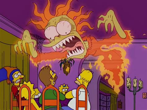 The Simpsons Treehouse Of Horror I - till death goo us part the ghost of maude flandersthe simpsons tapped out addictsall things the