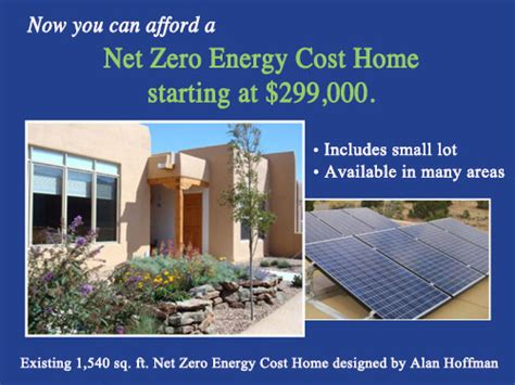 zero net energy homes santa fe net zero energy cost homes