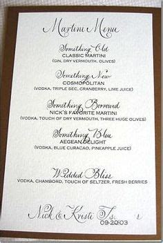 wedding cocktails on pinterest cocktails cocktail menu