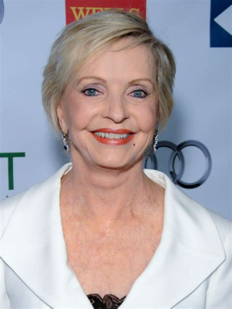 florence henderson short side part short hairstyles