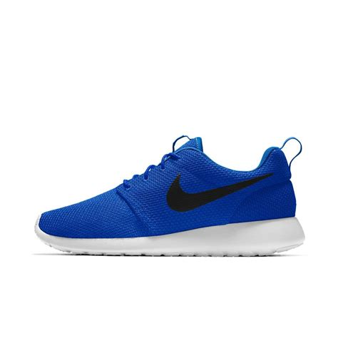 roshe shoes for nike roshe one essential id s shoe in blue for lyst