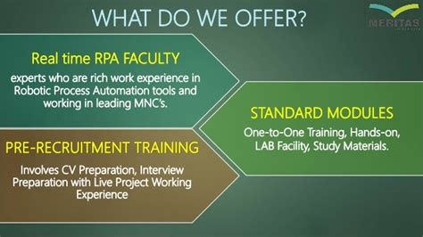 Requirements What Does Pre Mba by Rpa Robotic Process Automation