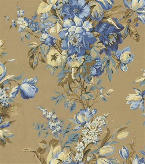 waverly home decor home decor print fabric waverly grand entrance blue