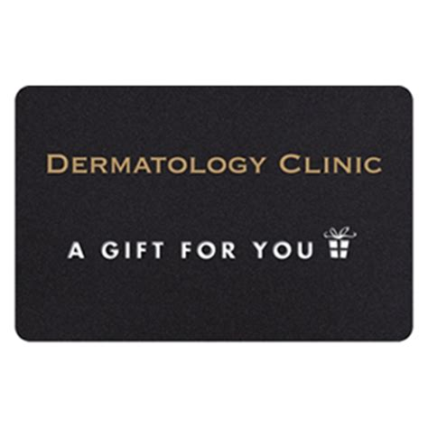 Gift Card Center - dermatology clinic cosmetic center gift card the dermatology clinic