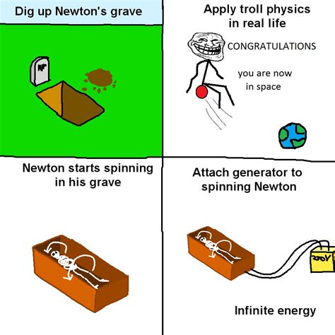Troll Physics Meme - meme a day troll physics