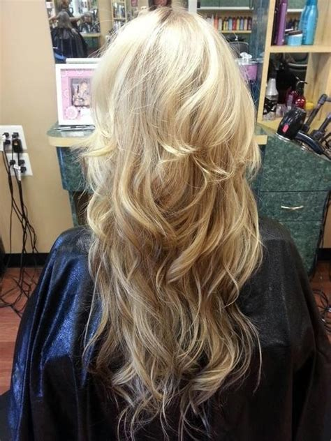 reverse ombre at home for processed blonde hair blonde layers get yo hair did pinterest beautiful