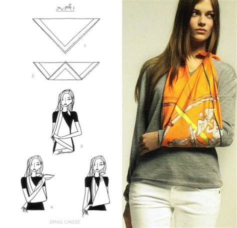how to make a sling 10 steps with 17 best ideas about arm sling on survive the
