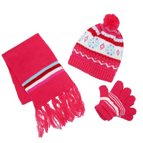 knitting pattern hat scarf gloves kids knit winter pattern hat scarf and gloves on a string