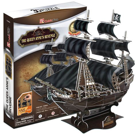 Pirate Ship Papercraft - new arrive 3d diy child puzzle toys paper model kits