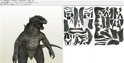 Papercraft Godzilla - godzilla papercraft wip by alejandr0 m on deviantart