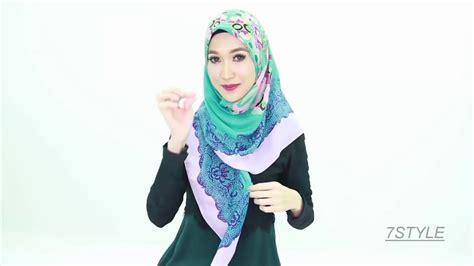 tutorial hijab berkacamata terbaru 7 styles hijab tutorial 2018 by zoya tutorial hijab modern