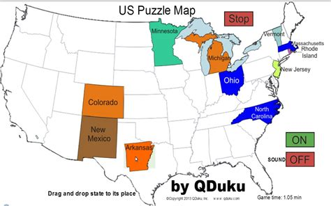 us map puzzle addicting states map driverlayer search engine