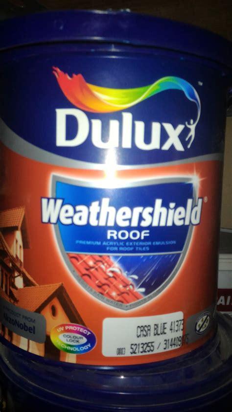 cat genteng dulux 2013 jual cat genteng dulux weathershield roof 2 5 l arta