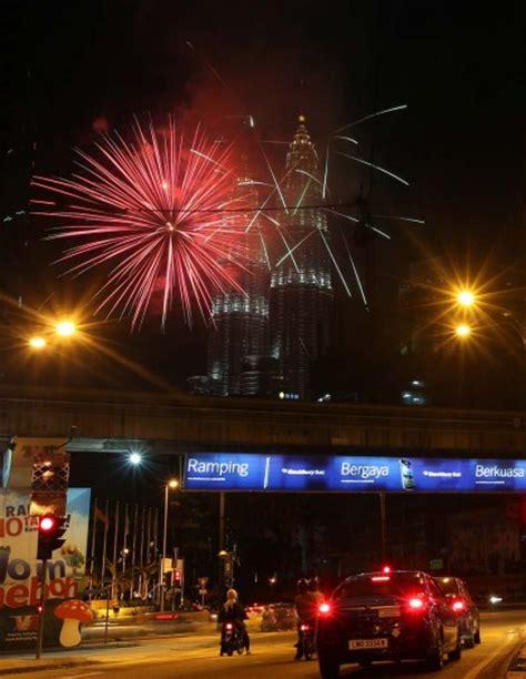 new year celebrations in kuala lumpur 2015 malaysia