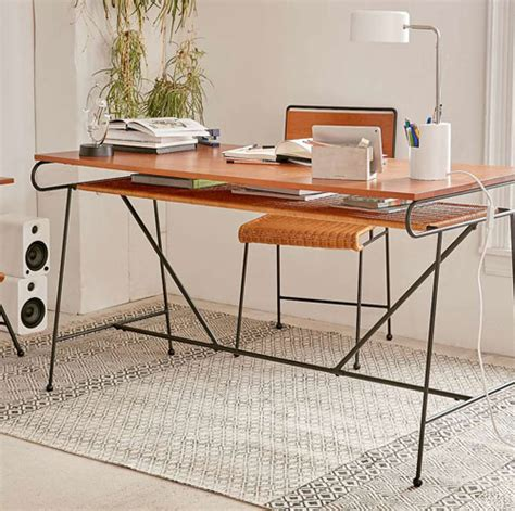 Home Outfitters Desk by Retro Office Ryerson Midcentury Style Desk And Chair At