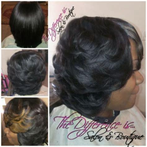 quick weave hairstyles in atlanta full quick weave layered cut curl atl ga follow hair