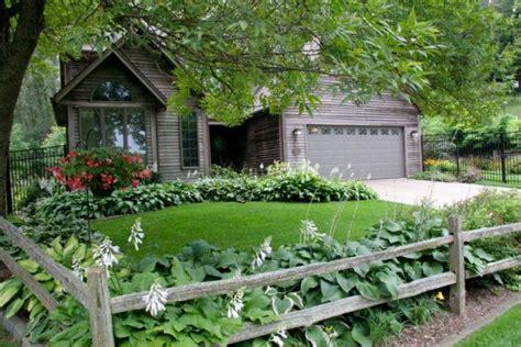 split rail fence   backyard