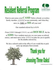 referral flyer template help i need some resident referral flyer ideas