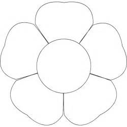free flower template printable coloring pages free printable flower template new