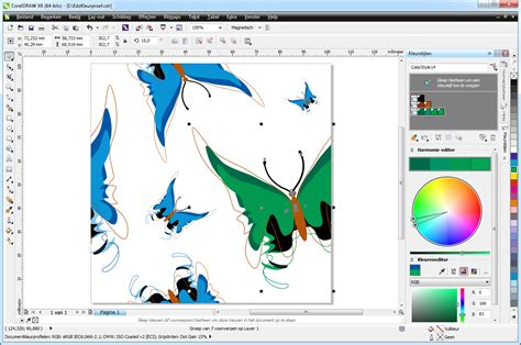 corel draw x6 effects capturas