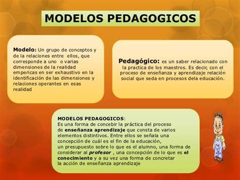 Modelos Curriculares Que Modelos Pedagogico Curriculares Academicos