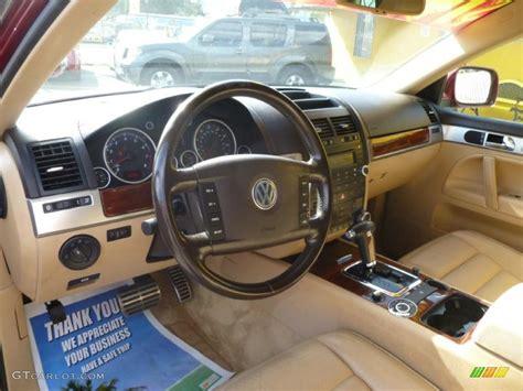 volkswagen touareg interior 2004 2004 volkswagen touareg v8 interior photo 42773521