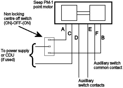 wiring diagram seep point motors 28 images points 1287
