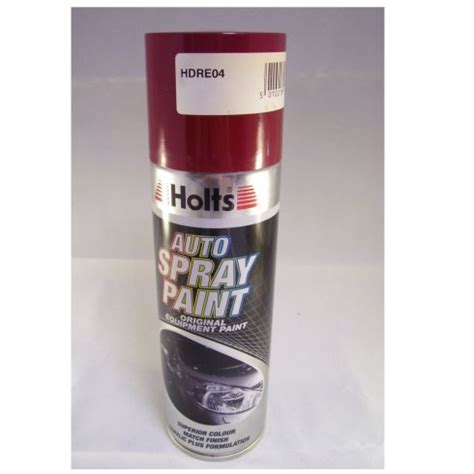 paint match hdre04 holts paint match pro aerosol red non metallic