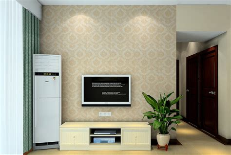 wallpaper for lcd wall minimalist tv wall with nostalgic wallpaper