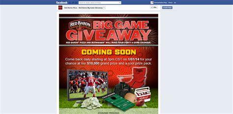 Red Baron Sweepstakes - facebook com redbaronpizza red baron big game giveaway sweepstakes