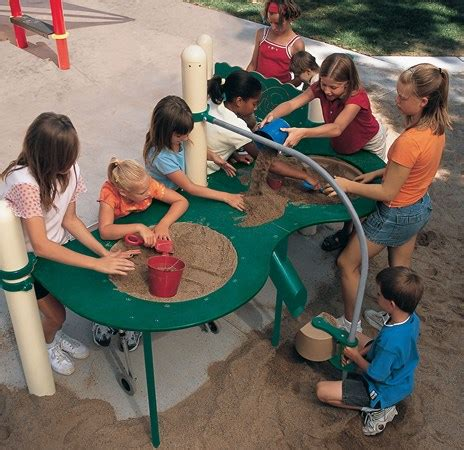 Landscape Structures Sandbox Elevated Sand Table Large Raised Fully Accessible