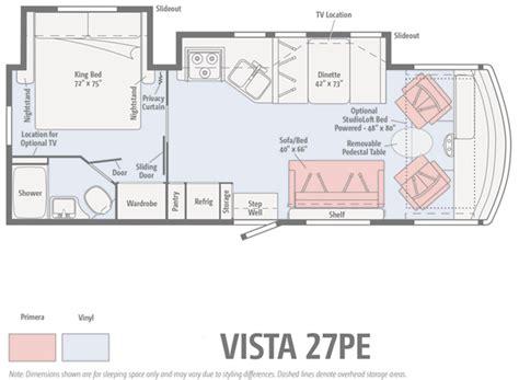 winnebago view floor plans sunstar floorplans winnebago winnebago announces new 2017 floorplans lichtsinn rv blog