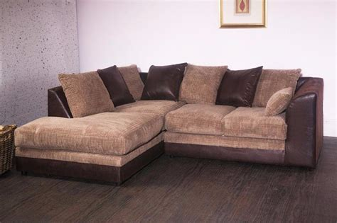 Fabric And Leather Corner Sofa Joshua Sofa Corner Sofa Rhino Suede Leather Sofa Furniturestop Co Uk Furniturestop Co Uk