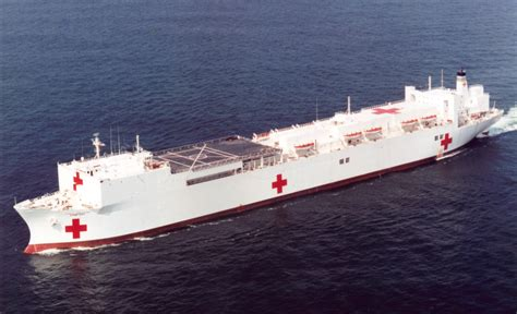 navy hospital ship comfort msc ship inventory hospital ships